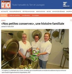 le journal dici article de l'ete 2016